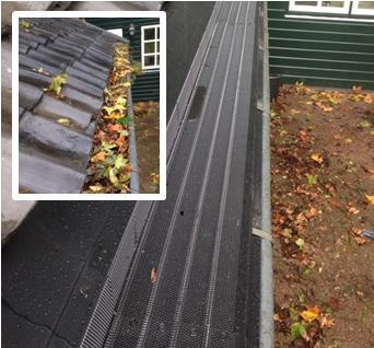 10 jaar gratis onderhoud op dakgoten